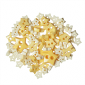 Craft Buttons - Yellow Stars (2.5g Pack)