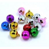 6mm Jingle Bells - Pink