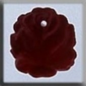 Glass Treasures 12014 - Medium Rose Matte Ruby