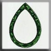 Glass Treasures 12020 - Teardrop Emerald