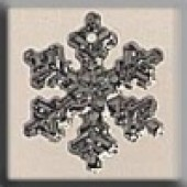 Glass Treasures 12035 - Small Silver Snowflake