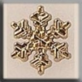 Glass Treasures 12036 - Small Gold Snowflake