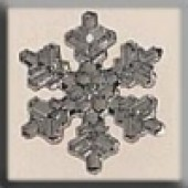 Glass Treasures 12037 - Medium Silver Snowflake