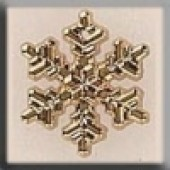 Glass Treasures 12038 - Medium Gold Snowflake