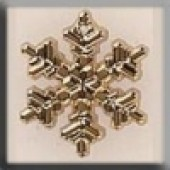 Glass Treasures 12040 - Large Snowflake Gold