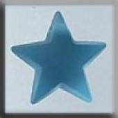 Glass Treasures 12048 - Large Star Aqua