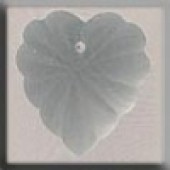 Glass Treasures 12070 - Frosted Starburst Heart