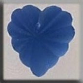 Glass Treasures 12071 - Starburst Heart Sapphire
