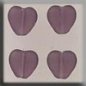 Glass Treasures 12091 - Medium Heart Amethyst
