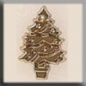 Glass Treasures 12106 - Christmas Tree Gold