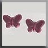 Glass Treasures 12121 - Butterfly Matte Rose