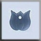 Glass Treasures 12153 - Very Small Tulip Matte Sapphire