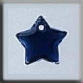 Glass Treasures 12173 - Small Flat Star Royal Blue