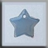 Glass Treasures 12174 - Small Flat Star Opal White
