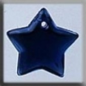 Glass Treasures 12176 - Large Flat Star Royal Blue