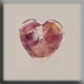 Glass Treasures 12181 - Heart Red Opal