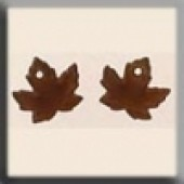 Glass Treasures 12201 - Maple Leaf Autumn Topaz