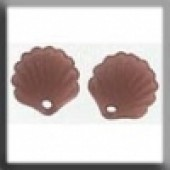 Glass Treasures 12244 - Scallop Shell Matte Dark Rosaline