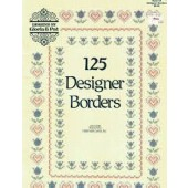 Designs by Gloria & Pat 125 Designer Borders Cross Stitch Booklet