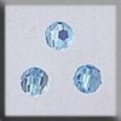 Crystal Treasures 13014 - Round Bead Aquamarine