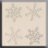 Metal Treasures 15001 - White Metal Snowflake