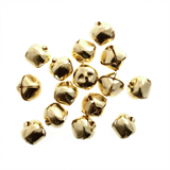 15mm Jingle Bells - Gold