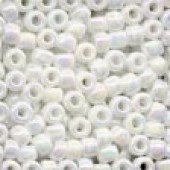 Size 6 Beads 16601 - White Opal