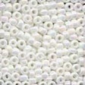 Size 8 Beads 18801 - White Opal