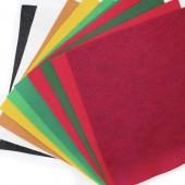 Felt Jelly Roll - Christmas colours 1