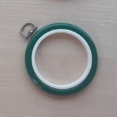2.5in Round Coloured Flexi Hoop - Green