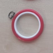 2.5in Round Coloured Flexi Hoop - Red