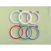 4 Inch Plastic Flexi-Hoop 3 Pack - Dark