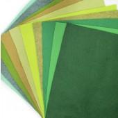 Felt Jelly Roll - Woodland colours 4