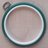 4in Round Coloured Flexi Hoop - Green