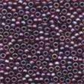 Frosted Glass Beads 60367 - Frosted Garnet