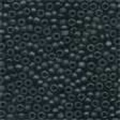 Frosted Glass Beads 62014 - Frosted Black