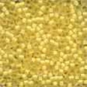 Frosted Glass Beads 62041 - Frosted Buttercup