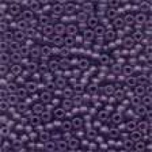 Frosted Glass Beads 62056 - Frosted Boysenberry