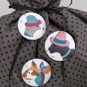 Cat Buttons Kit