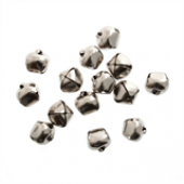 6mm Jingle Bells - Silver