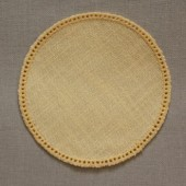 12cm Round Crochet Doilies - White 12cm / 5in