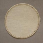 12cm Round Crochet Doilies - Cream 12x12cm (5x5 inches)