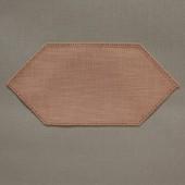 25cm Facette Doilies - Buttercup - White 25 x 12cm / 10 x 5in