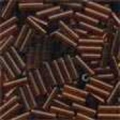 Small Bugle Beads 72023 - Root Beer