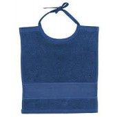 Rico Baby Tie on Bib - Ultramarine (30 x 34cm)