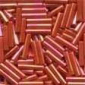 Medium Bugle Beads 82050 - Red Rainbow