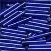 Large Bugle Beads 90020 - Royal Blue