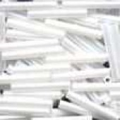 Large Bugle Beads 90479 - White