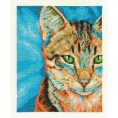 BK1572 - Tabby Cross Stitch Kit
