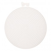33004 - Plastic Canvas 4.5in Round - 2 Pack